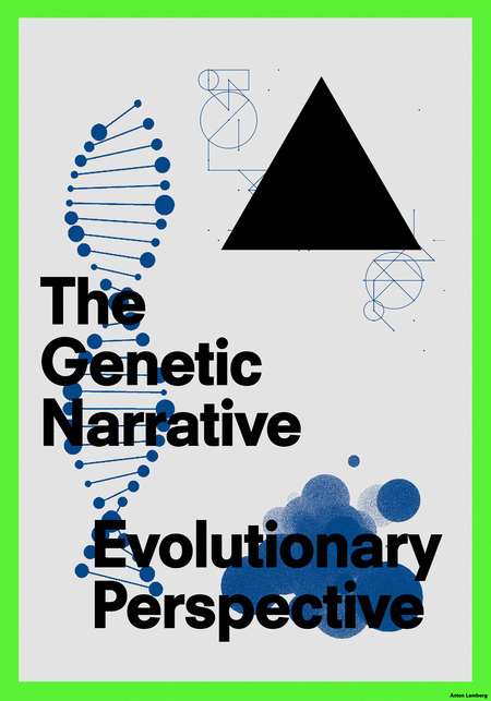 Genetic narrative poster catalogue