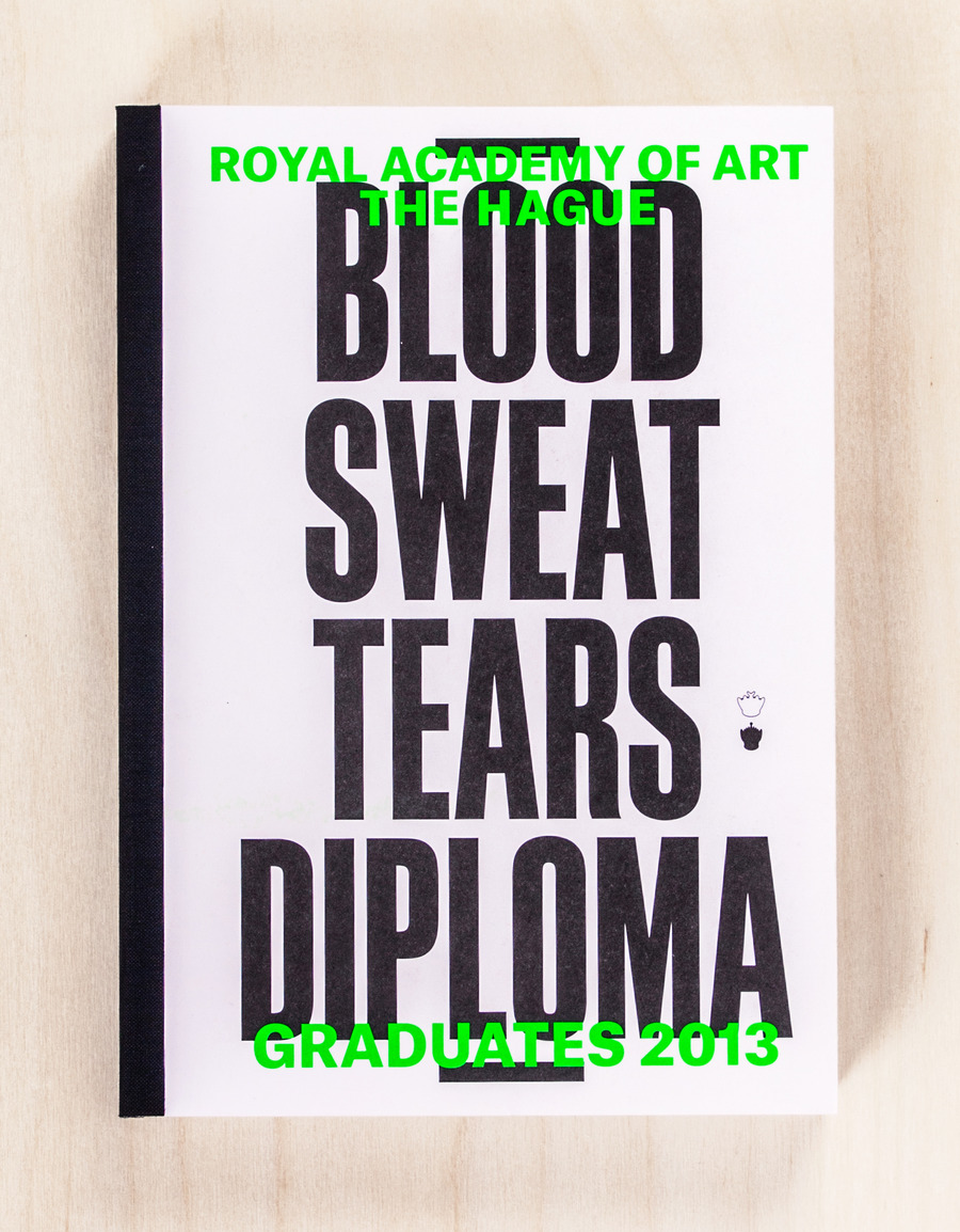 Blood sweat tears diploma   book cover catalogue 2x