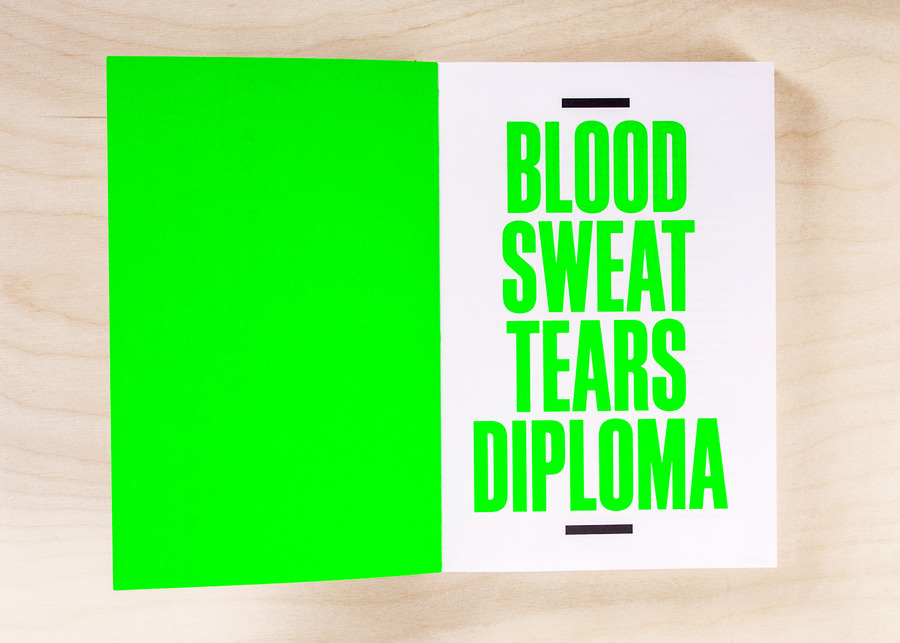 Blood sweat tears diploma   book pages1 catalogue 2x