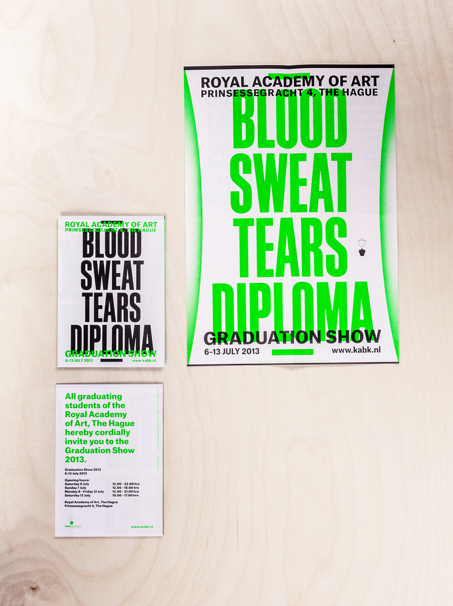Blood sweat tears diploma   flyer catalogue 2x